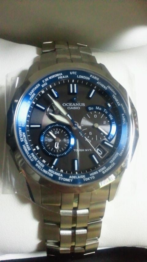 時計買いました。